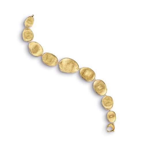 Lunaria Gold Graduated Medium Bracelet