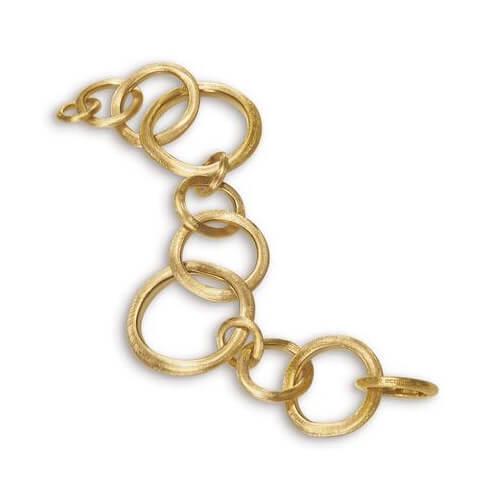 Jaipur Link Gold Large Gauge Bracelet