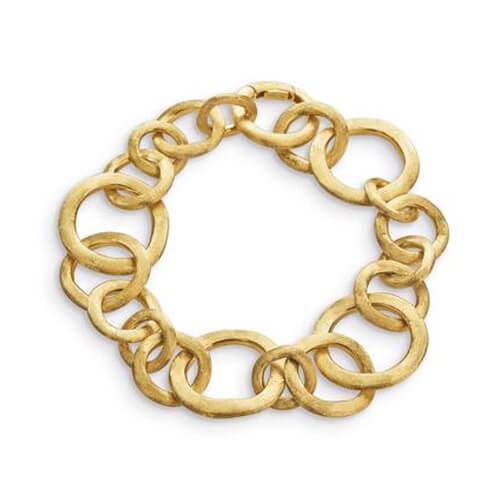 Jaipur Link Gold Small Gauge Bracelet