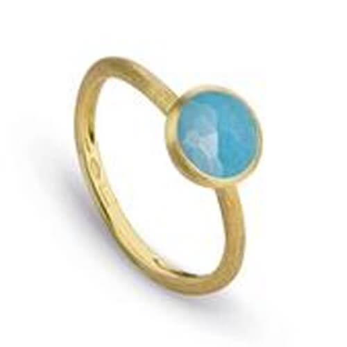 jaipur turquoise stackable ring