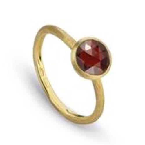 Jaipur Garnet Stackable Ring