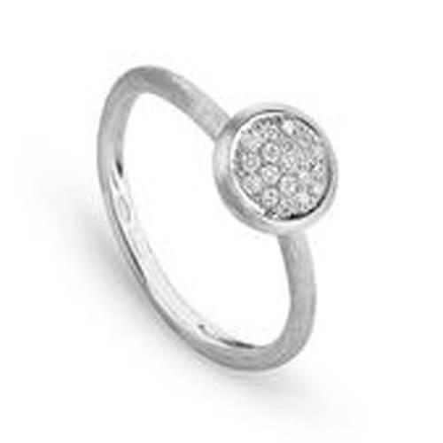 Jaipur Diamond White Stackable Ring