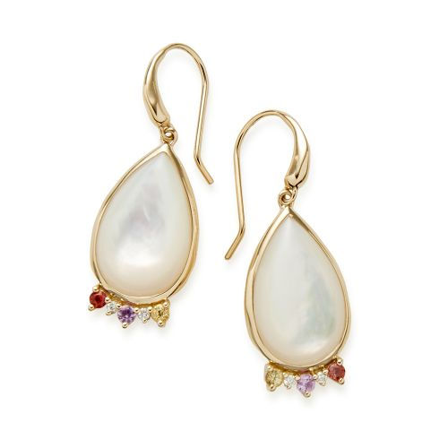 Teardrop Earrings in 18K Gold