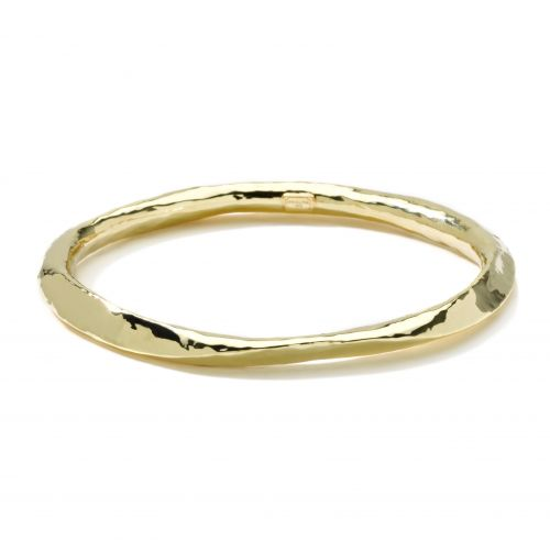 Wavy Bangle in 18K Gold