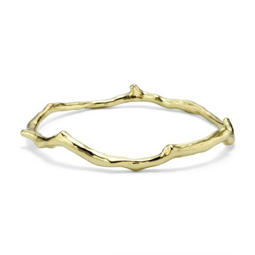 Branch Bangle in 18K Gold