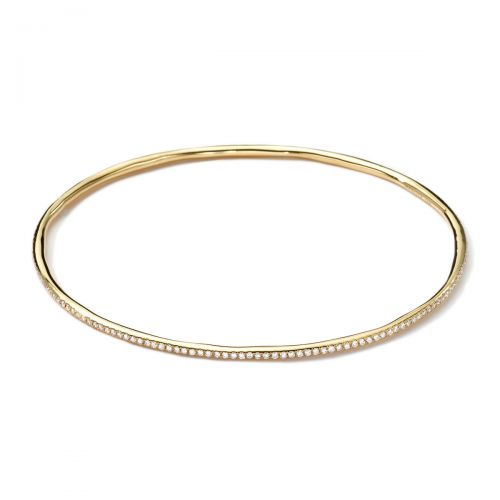 Bangle in 18K Gold with Diamonds