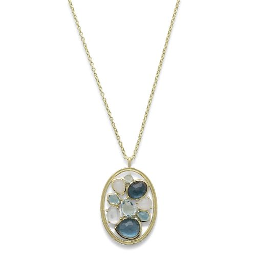 pendant necklace in 18k gold