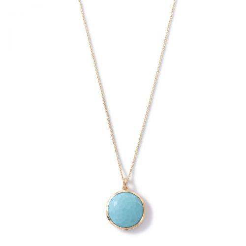 Medium Pendant Necklace in 18K Gold