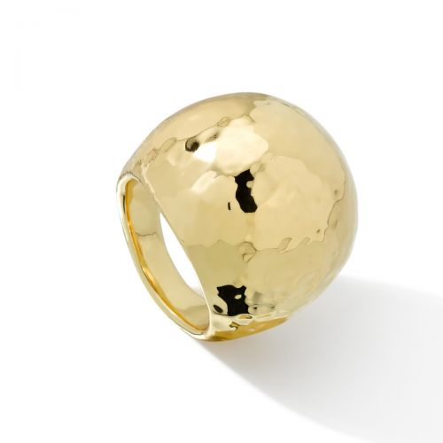 Dome Ring in 18K Gold