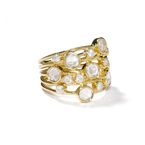 Constellation Ring in 18K Gold with Diamonds