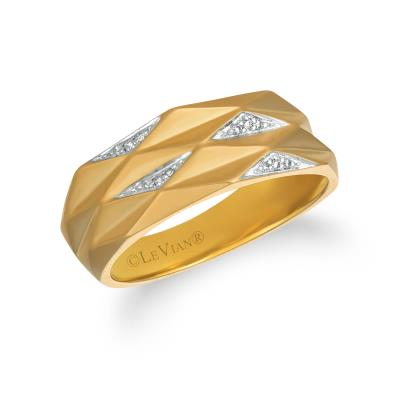14K Honey Gold™ Ring with Vanilla Diamonds®  cts.