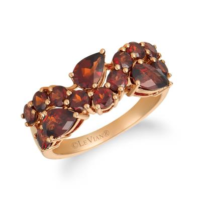 14K Strawberry Gold® Pomegranate Garnet™ 2  7/8 cts. Ring