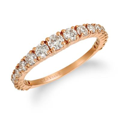 14K Strawberry Gold® Ring with Nude Diamonds™ 7/8 cts.