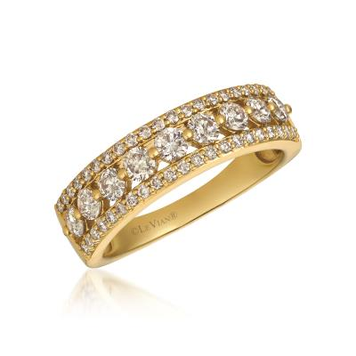 14K Honey Gold™ Ring with Nude Diamonds™ 1 cts.