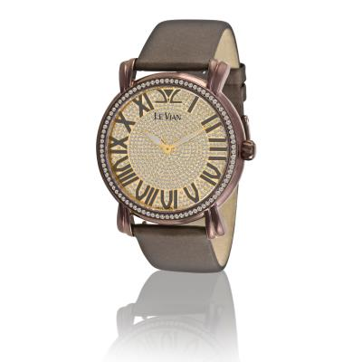 STL Watch with Chocolate Diamonds® 3  1/2 cts.