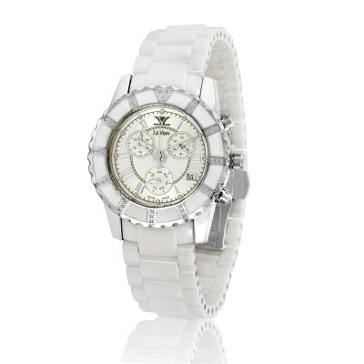 watch with vanilla diamonds® 1/4 cts.
