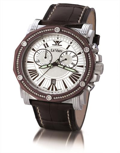 STL Watch with Chocolate Diamonds® 5/8 cts.