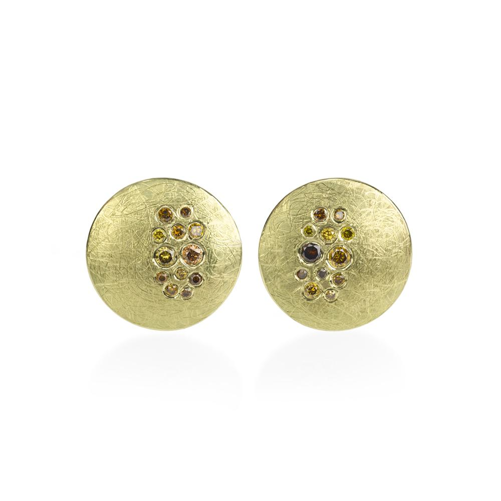 Stud earrings with Autumn Diamonds 023ctw in