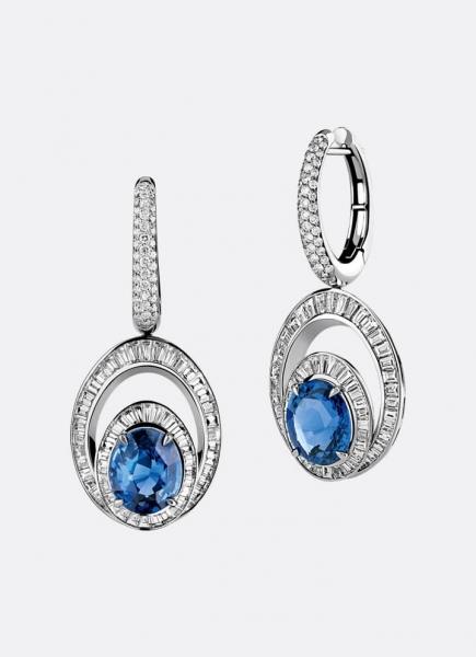 Earrings Reine de Naples