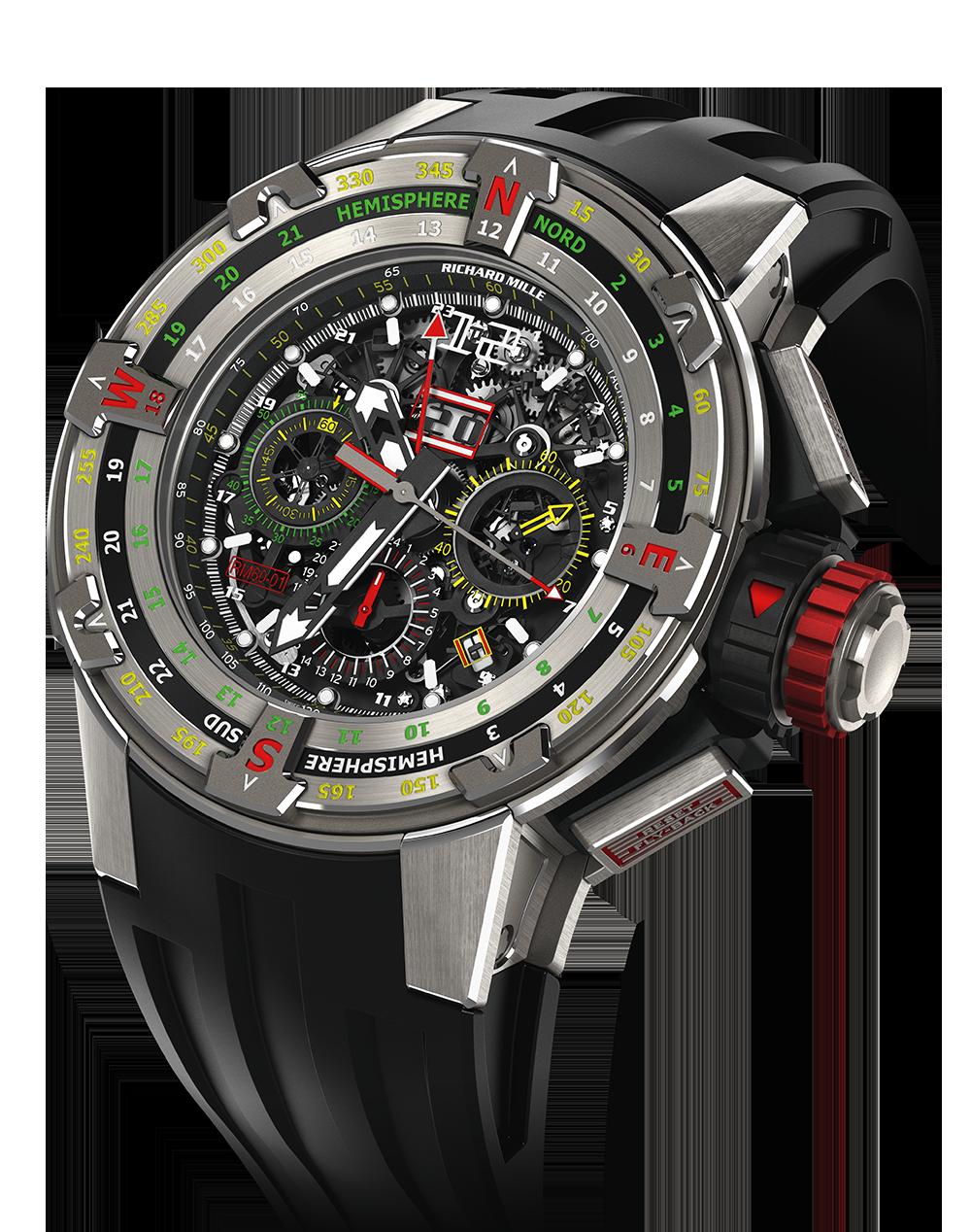 RM 60-01-Regatta Flyback Chronograph