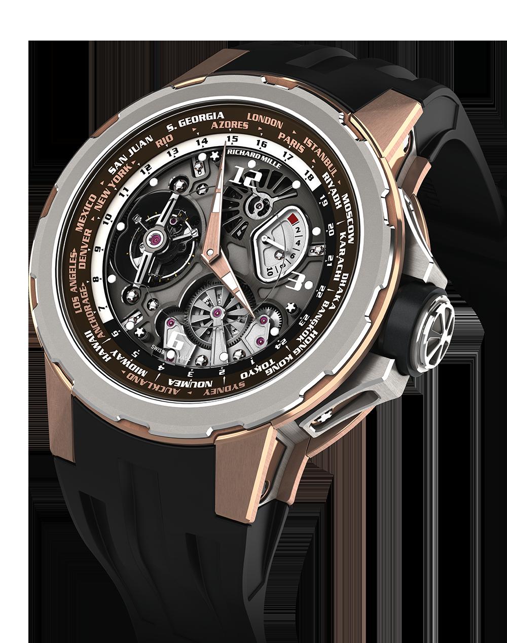 Richard Mille - RM 5801Tourbillon World Timer  Jean Todt