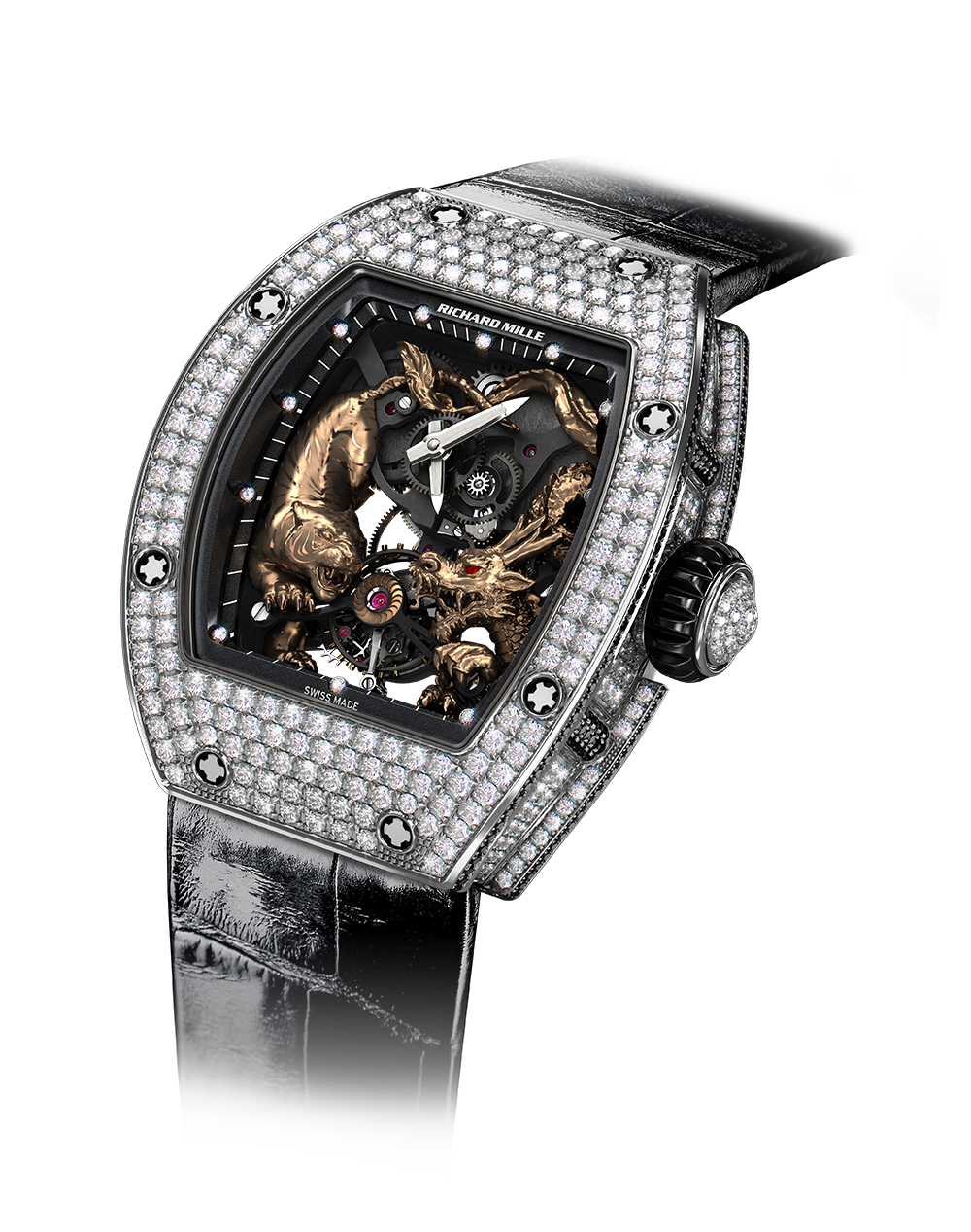 RM 51-01-Tourbillon Tiger and Dragon - Michelle Yeoh