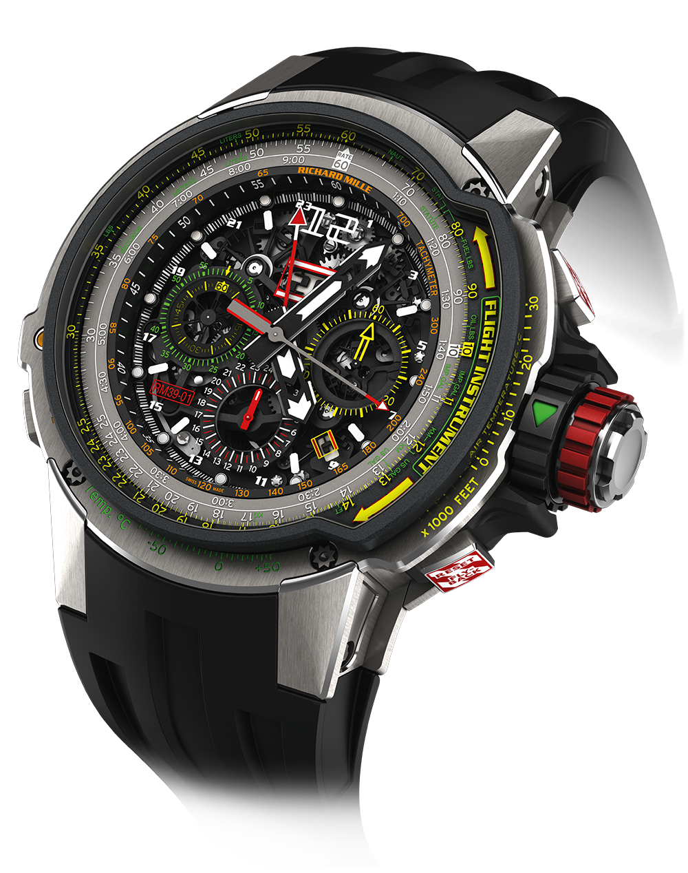 Rm 39-01-automatic flyback chronograph aviation