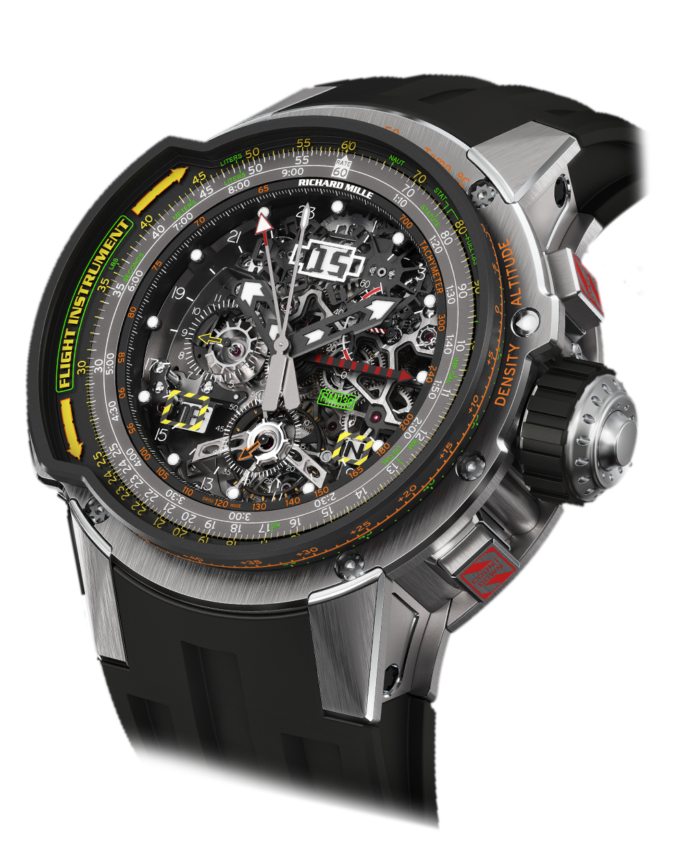 Rm 039-tourbillon aviation e6-b flyback chronograph
