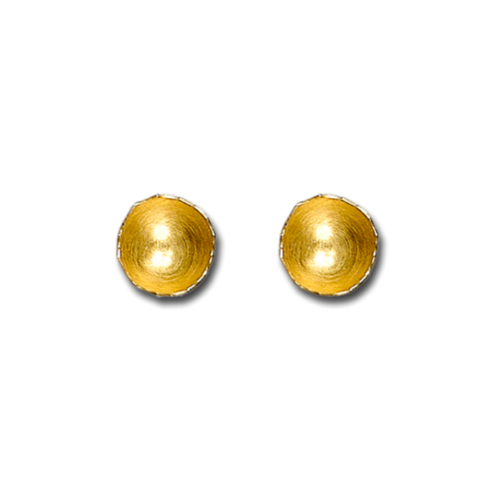 fragment gold medium earrings