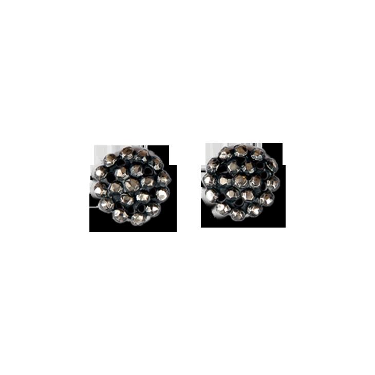 buckle medium stud earrings