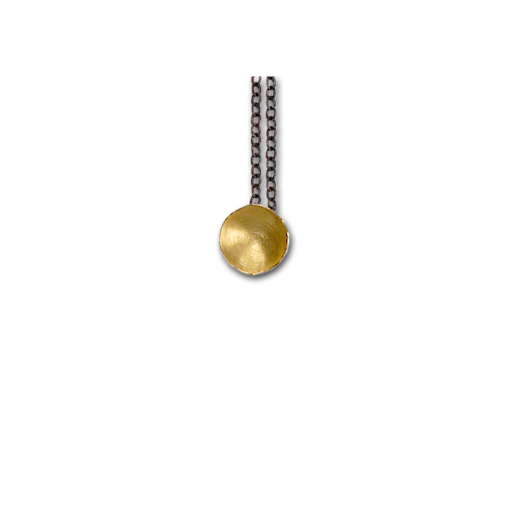Fragment Gold Pendant Necklace