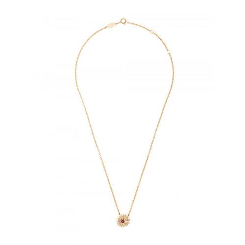 18kt gold Bouquet necklace
