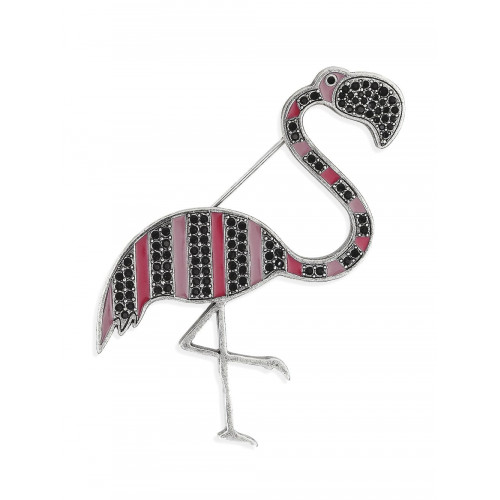 The Webster x Lane Crawford flamingo brooch