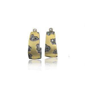 Cheetah J Hook Earrings