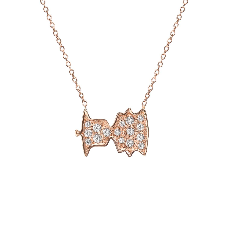 14k gold sounds necklace no. 4 -