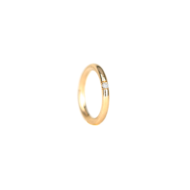 Uniform ring - 8 w diamond