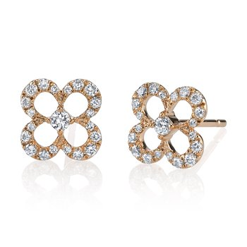 mars  fashion earrings, 0.26 ctw.
