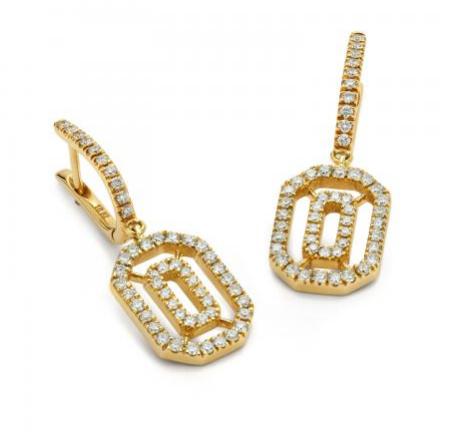 f11db04c9 De boulle collection logo earrings - Earrings - DeBoulle - EyeOnJewels