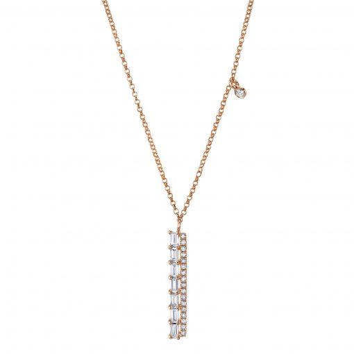 diamond necklace style #: mars-26826