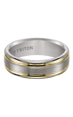 Triton titanium wedding band 11-2007t
