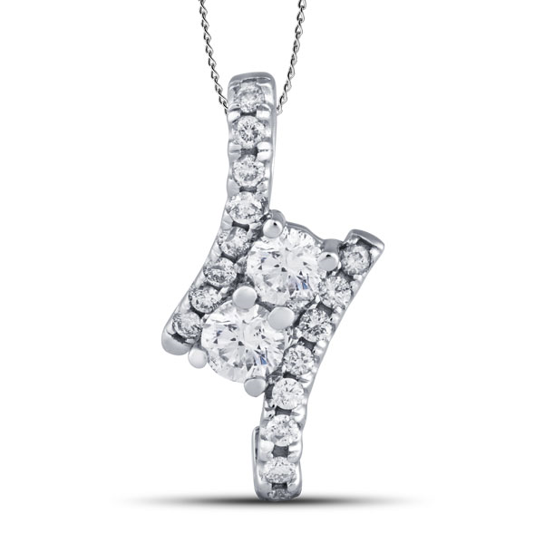 1/4 carat diamond foreverest™ pendant in gold