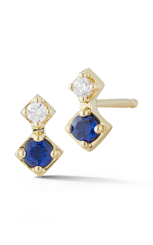 Barbela design sapphire venice earrings be1075-y