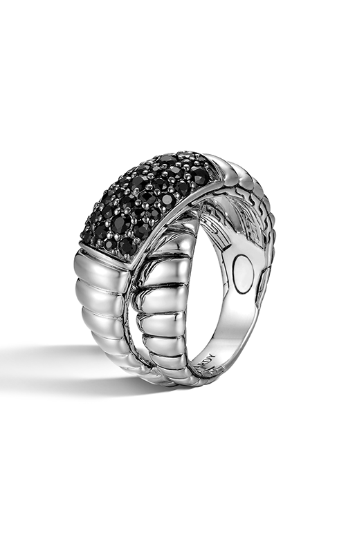 John hardy classic chain fashion ring rbs11634blsx7