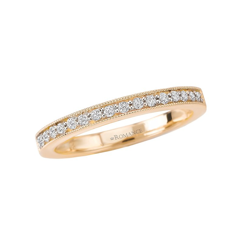 romance anniversary wedding band