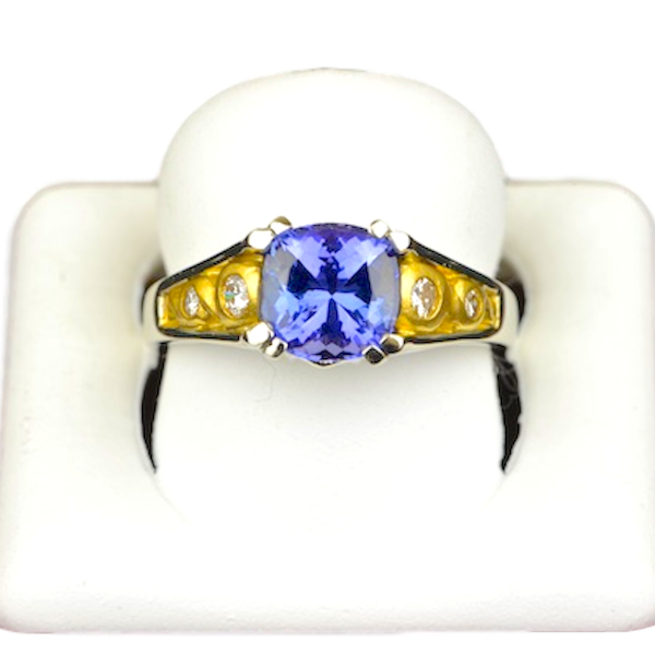 Bagley & hotchkiss tanzanite ring