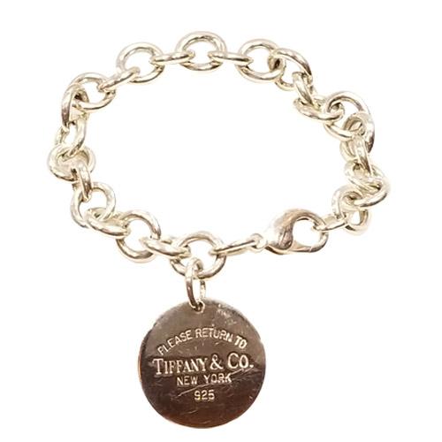 tiffany & co. tag please return to charm bracelet