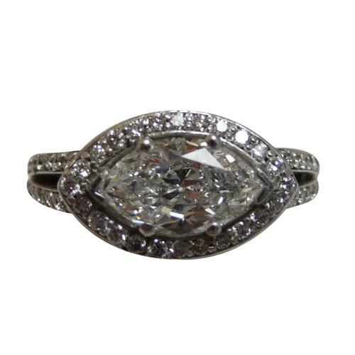 ladies marquise diamond ring