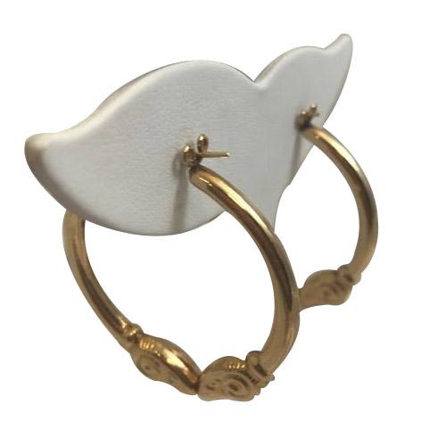 aries ram hoop earrings regular