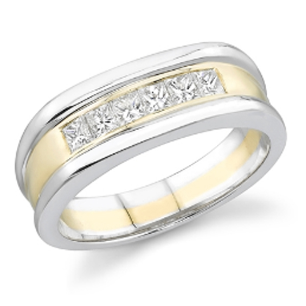 gentlemen's diamond classic ring #4